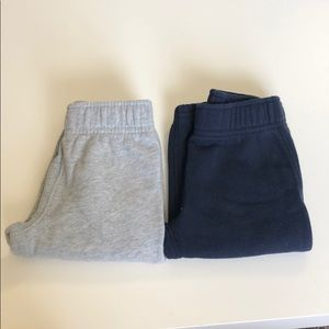 NWOT lot of 2 baby boy joggers 12 months